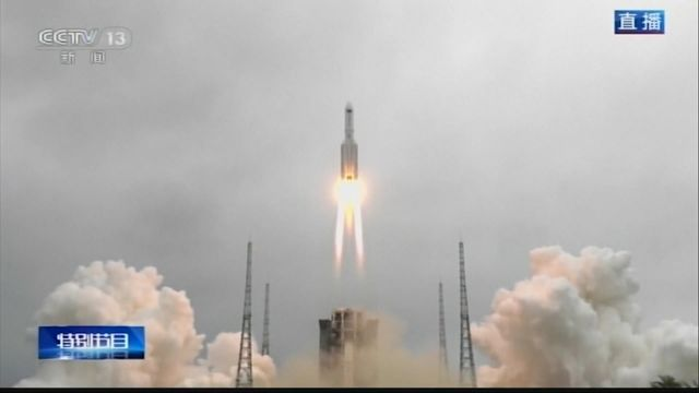 Space Race: China Begins Mission to Build Own Space Station