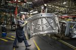 Inside The General Motor Co. Chevy, GMC, and Cadillac Assembly Plant Ahead Of Business Inventories Figures