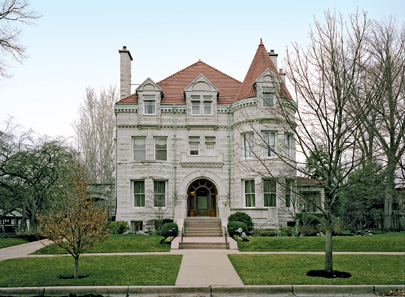 Sinquefield's century-old St. Louis mansion