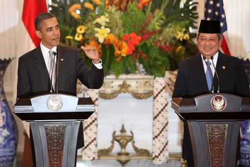 Obama Says U.S. Has Stake in Indonesia's Prosperity