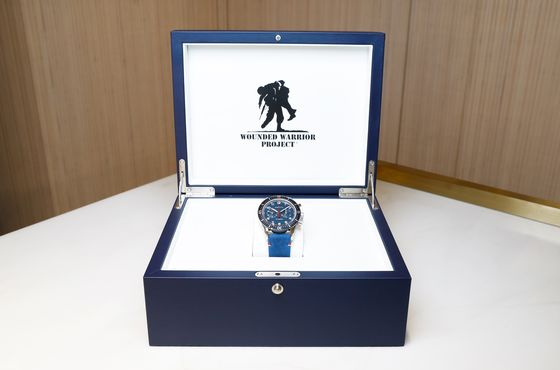 Zenith's All-American Pilot Watch to Benefit Wounded Warrior Project