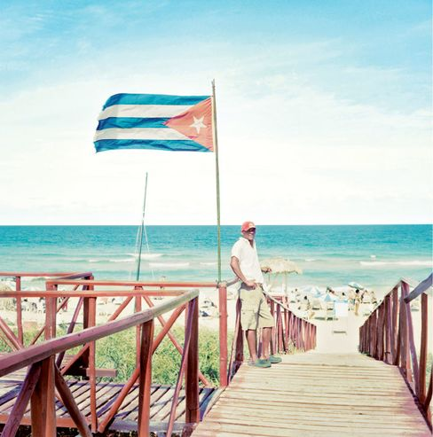 Cuba's Playa del Este, east of Havana.