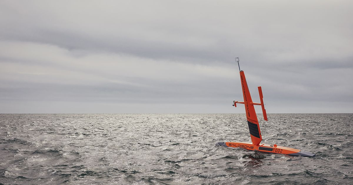 This Armada of Saildrones Could Conquer the Ocean