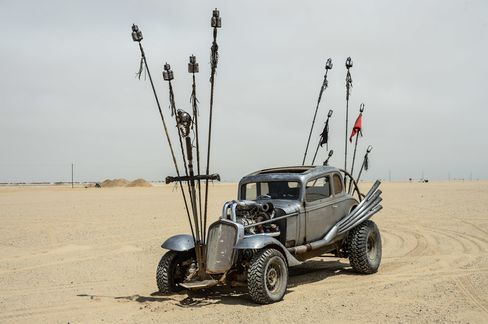 On Fury Road, the rad rod becomes a religious icon.