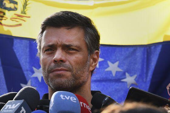 Venezuela's Opposition Leader Leopoldo Lopez Flees to Spain