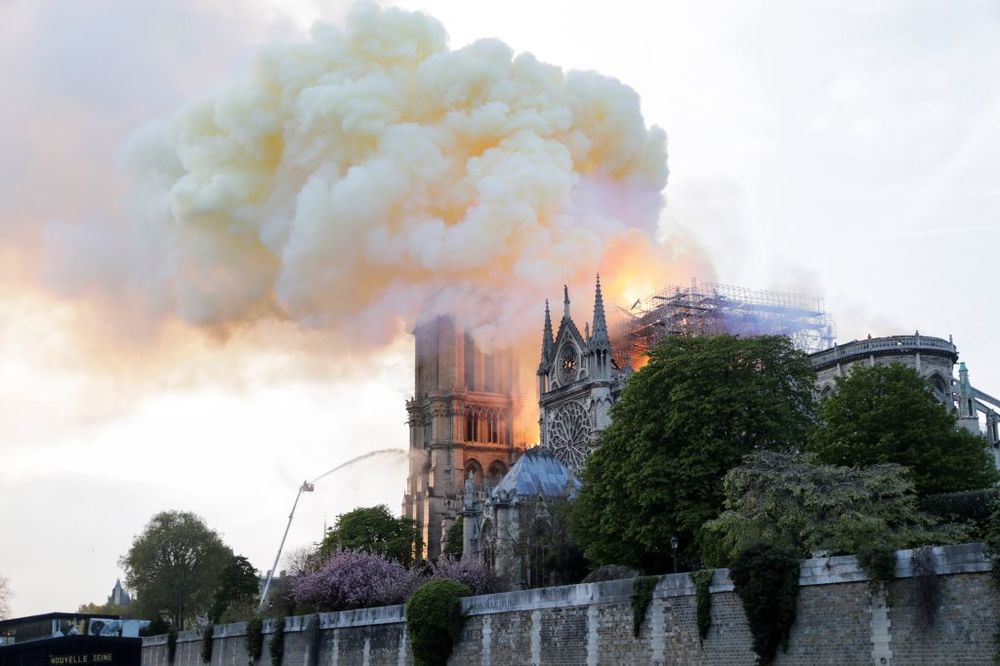 A Millennium of Symbolism Burns Along With Notre Dame
