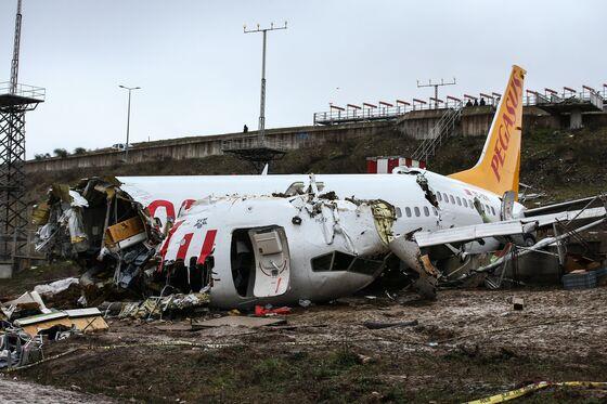 Three Dead After Boeing Jet Splits Open on Landing in Turkey