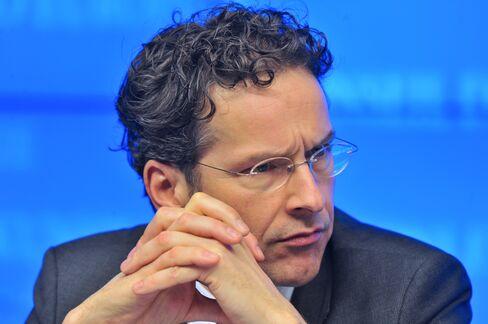 Eurozone President Jeroen Dijsselbloem