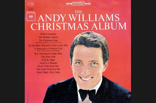 "Andy Williams, ""The Andy Williams Christmas Album"" (1963)"