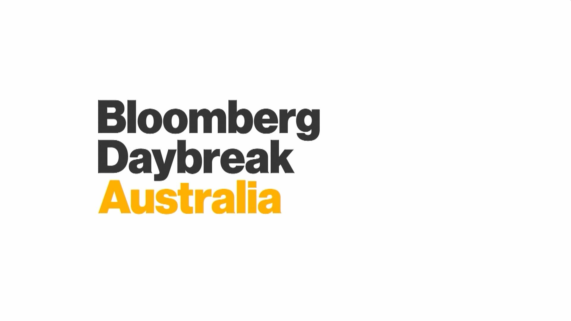 'Bloomberg Daybreak: Australia' Full Show (07/18/2019)