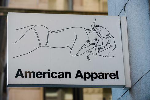 An American Apparel Store Ahead Of Earnings Figures