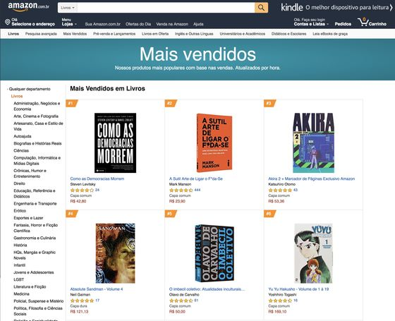 Portuguese Version of 'How Democracies Die' Becomes Amazon Bestseller in Brazil