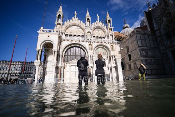 Venice Suffers Second Record Tide as Italy Declares Emergency