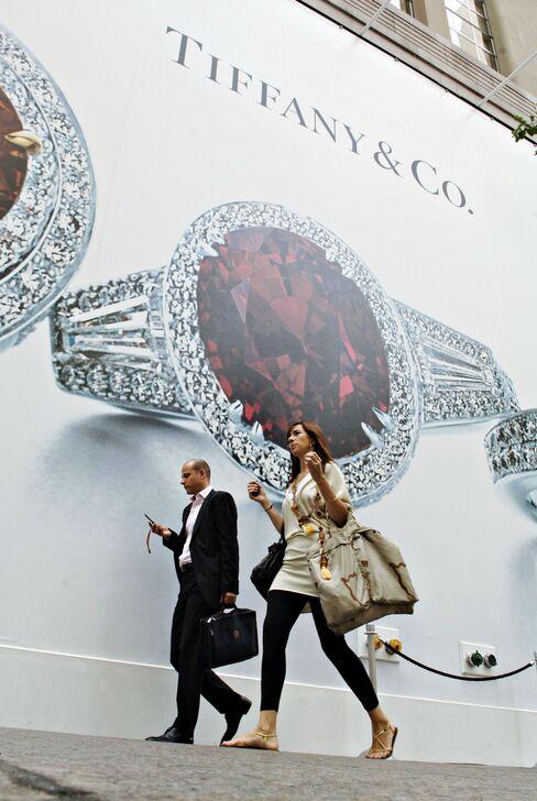 Tiffany Most Exposed to Luxury Slowdown Outside U.S.
