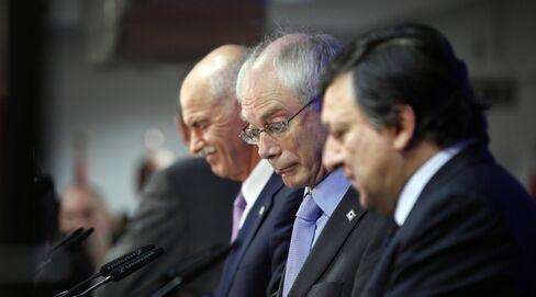 EU Sets 160B Euro Plan to Stem Greek Crisis