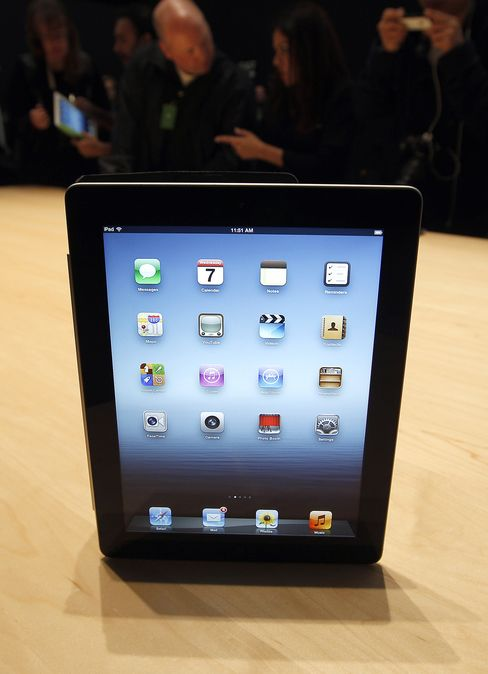 An Apple Inc iPad