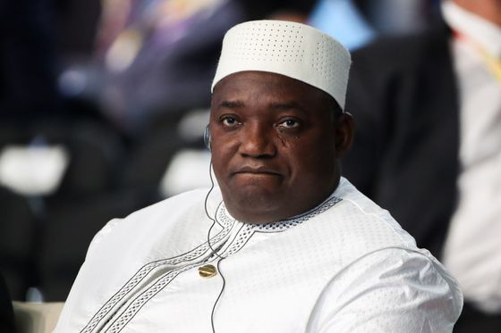 Gambian Leader Launches Party He's Expected to Lead in Election