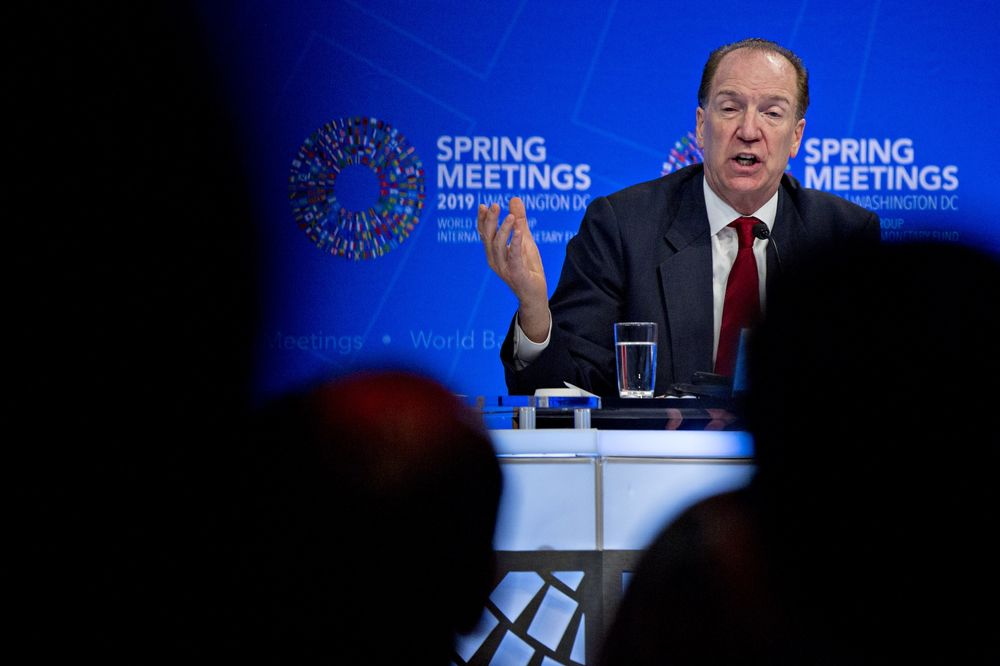 New World Bank Chief Says He'll Work Constructively With