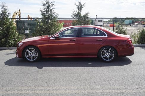 For the E300, it's more about comfort and ease than an engaged driving experience.