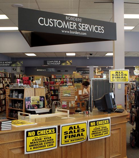 Books-A-Million Withdraws Offer to Buy 30 Borders Stores
