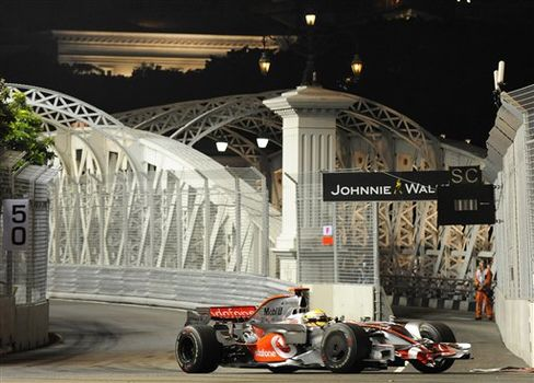 Singapore Auto Racing F1 GP