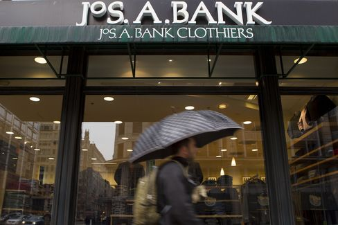 A Jos. A. Bank Clothiers Inc. Store Sits in Washington
