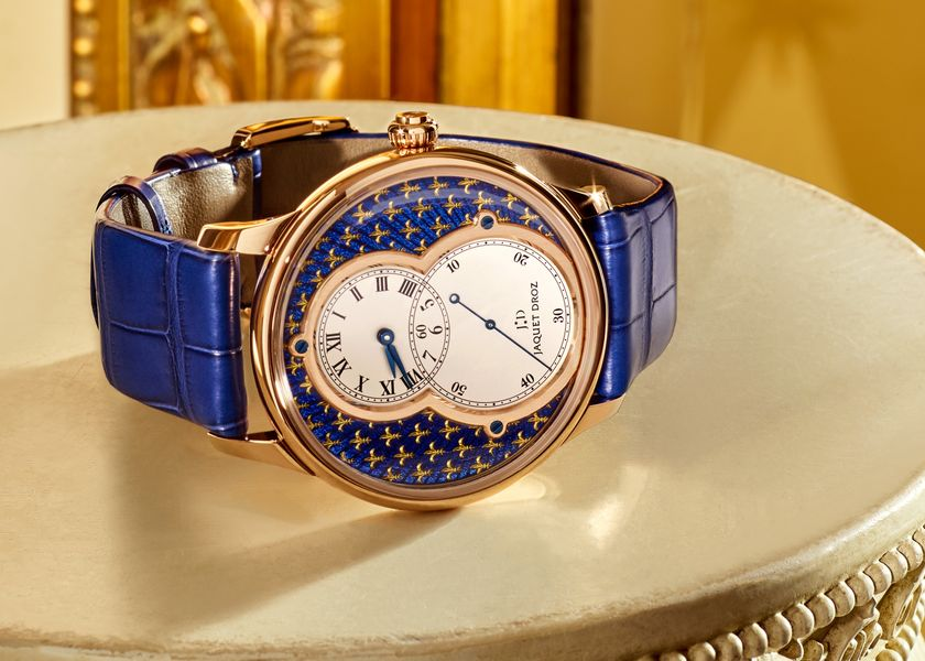 relates to An Enamel Technique Boosts This $42,000 Watch Fit for Royal Wrists