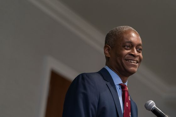 Bostic Tells Axios He Hears Fed Chair Speculation 'All The Time'