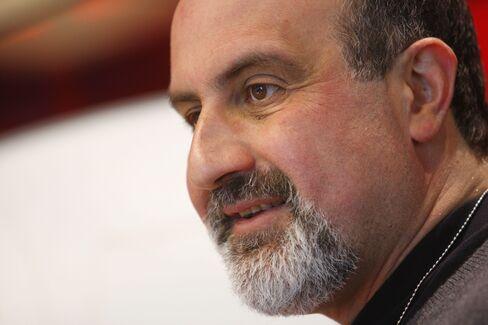 Author Nassim Taleb