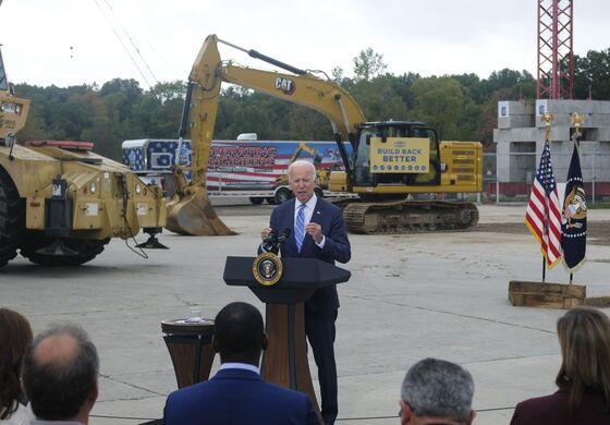 Biden Calls Foes of Economic Plans 'Complicit' in U.S. Decline