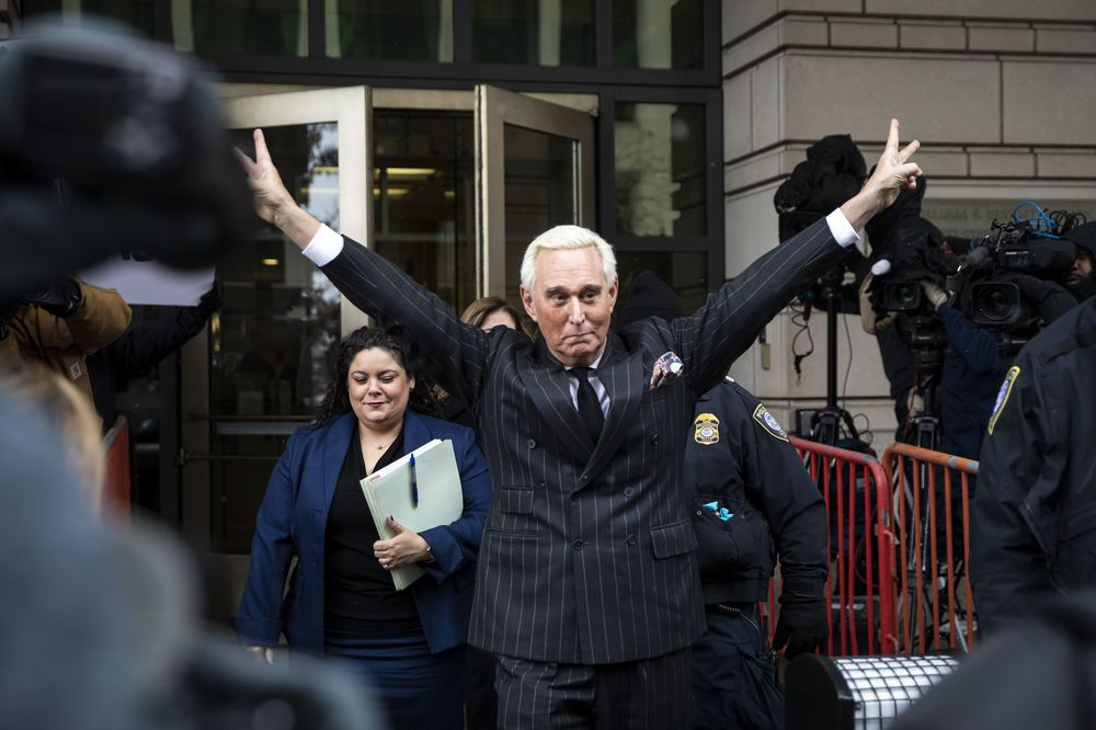 Judge Imposes Gag Order in Roger Stone Case