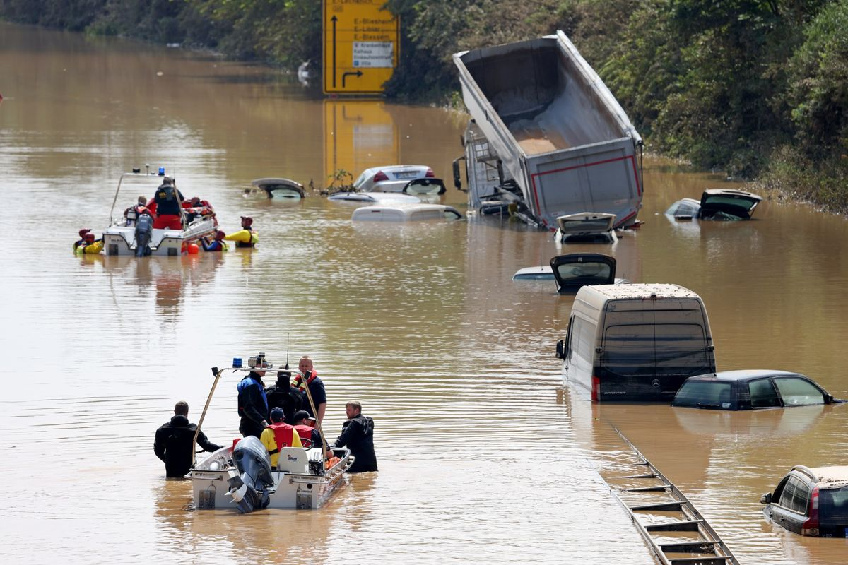 German Floods Shake Up Campaign as Climate Change Hits Home