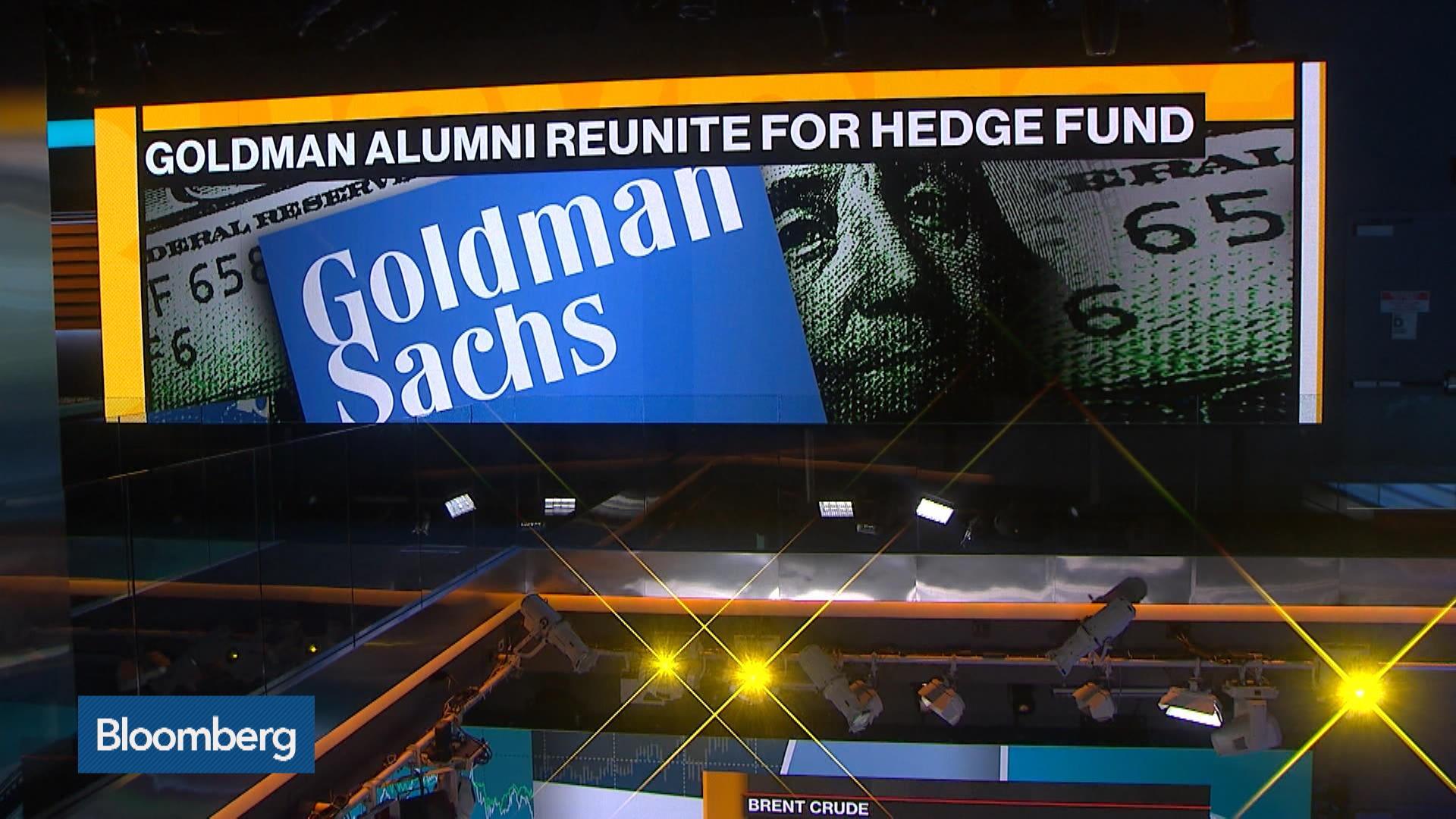 Hedge Fund Reunites Goldman Sachs Colleagues