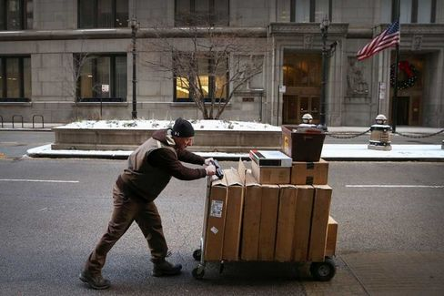 UPS Spends Now to Avoid Playing Scrooge Again This Christmas