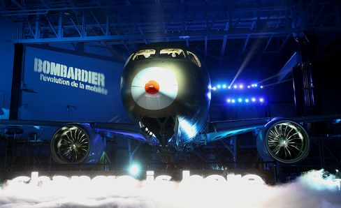 Bombardier Sticks to June First-Flight Goal for CSeries Jet