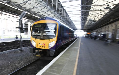 A FirstGroup Plc Train