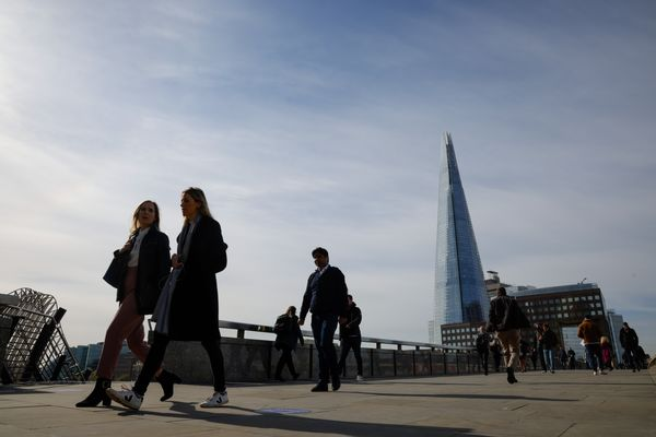 City of London Economy On Bank of England Interest Rate Decision Day