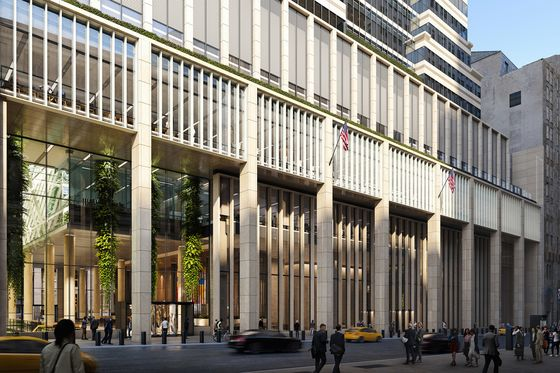 Empty Wall Street Tower Spotlights $5 Billion NYC Office Problem