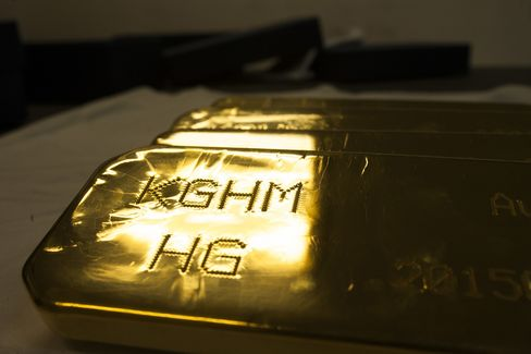 Copper, Gold And Silver Bullion Manufacture At KGHM Polska Miedz SA Smelting Plant