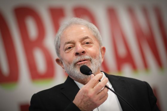 Lula's Party Launches All-Out Push for His Brazil Candidacy