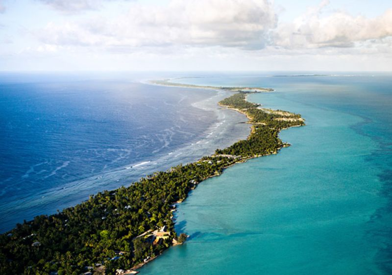 Kiribati: Climate Change Destroys Pacific Island Nation - Bloomberg