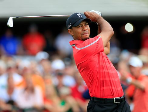 Tiger Woods's Chase to Regain Golf's No. 1 Rank Delayed by Storm