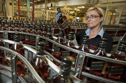Diageo Sips Savings in Whisky's C02 Footprint