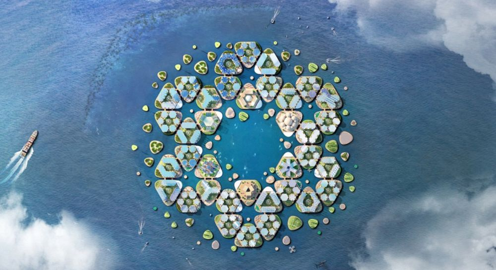 Floating Cities Won't Save Us From Climate Change - Bloomberg