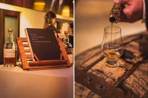 Stewart's whisky-blending know-how is so impressive, it comes with its own user's manual.