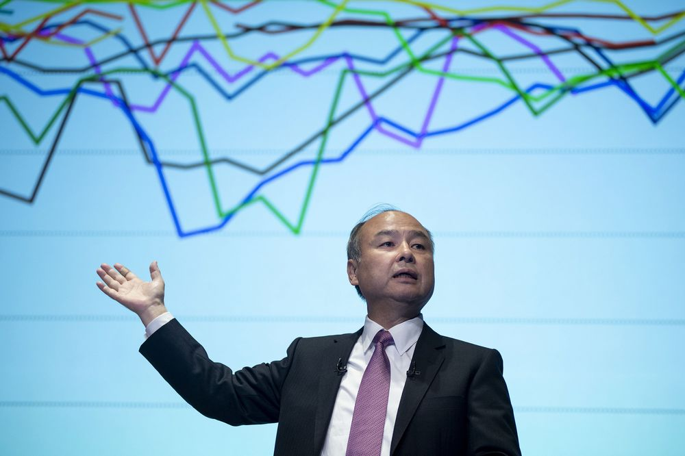 SoftBank's Masa Son went all-in and more on Big Tech, goosing the latest surge in stocks.