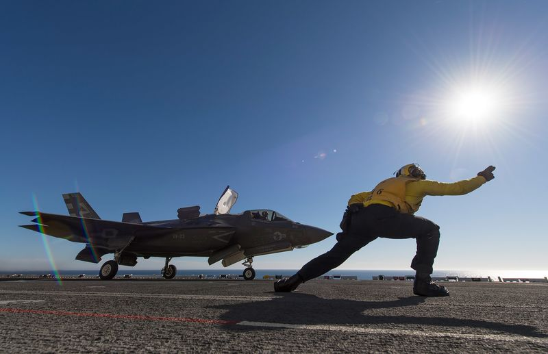 relates to Pentagon Gets a Fix for F-35 Bug in $400,000 Pilot Helmets