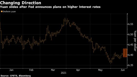 China's PBOC Braces for Weaker Yuan as Fed Plans Tapering