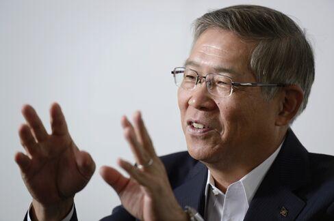 Kawasaki Heavy Industries Ltd. President Shigeru Murayama