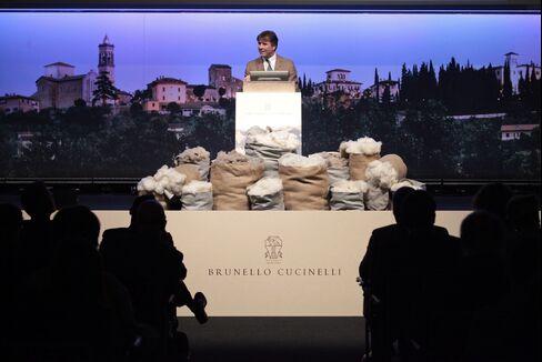 Brunello Cucinelli SpA CEO Brunello Cucinelli